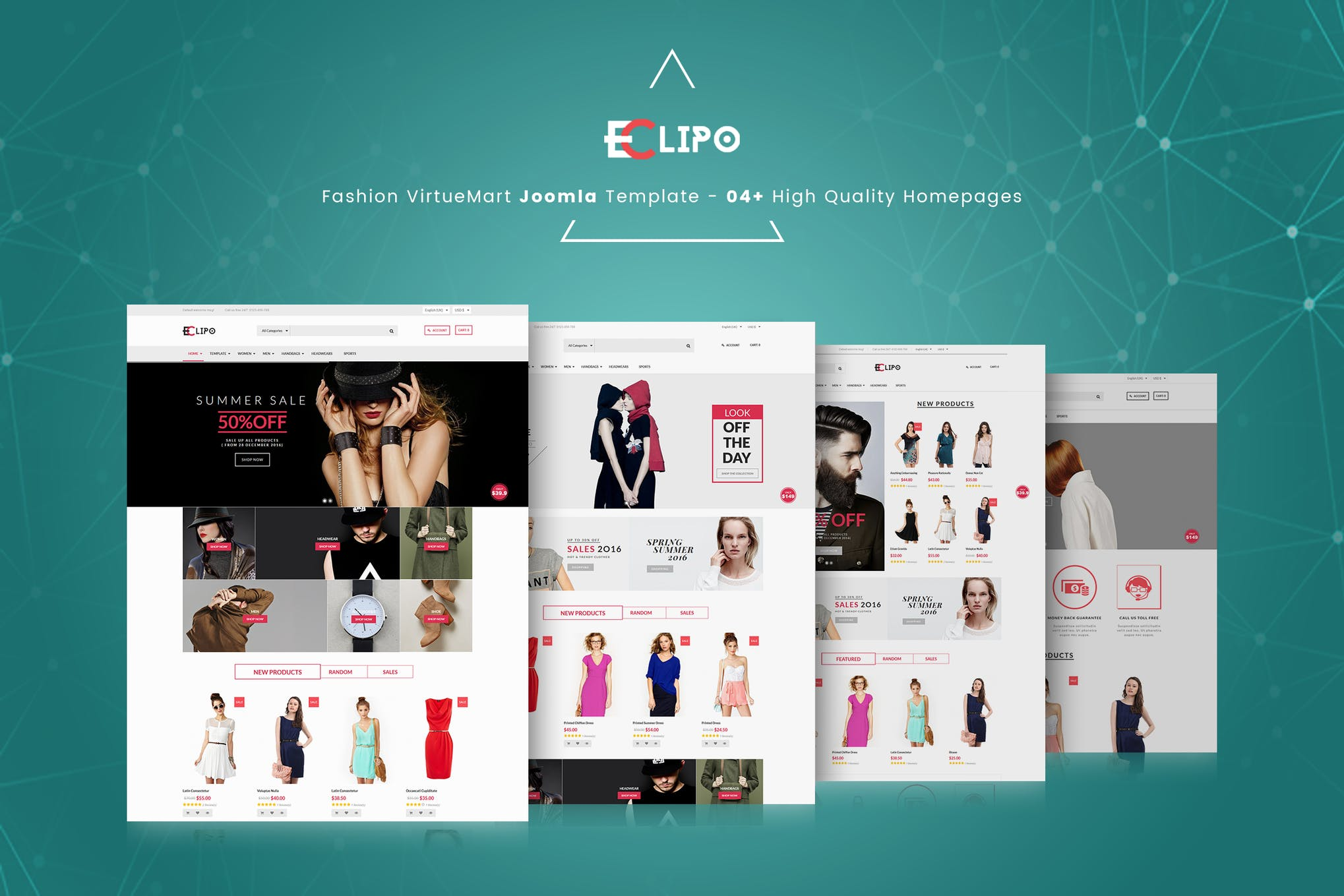 Eclipo - Fashion VirtueMart Joomla Template