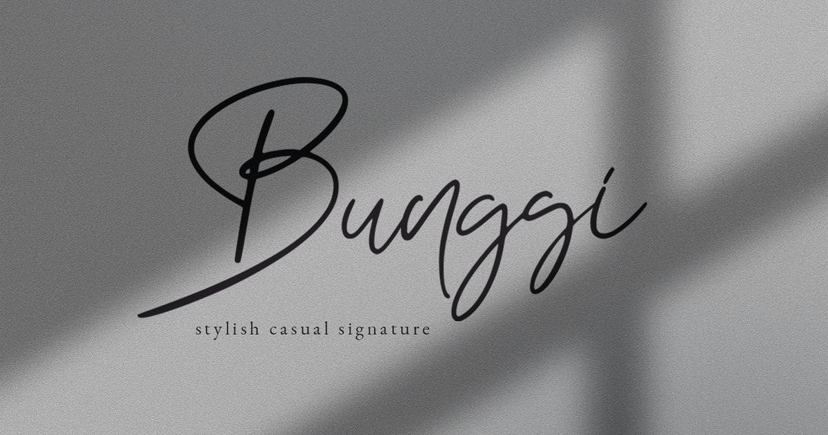Download Bunggi Signature by templatehere