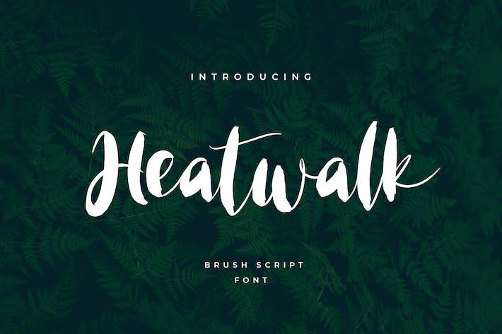 Heatwalk Script Handwritten Font