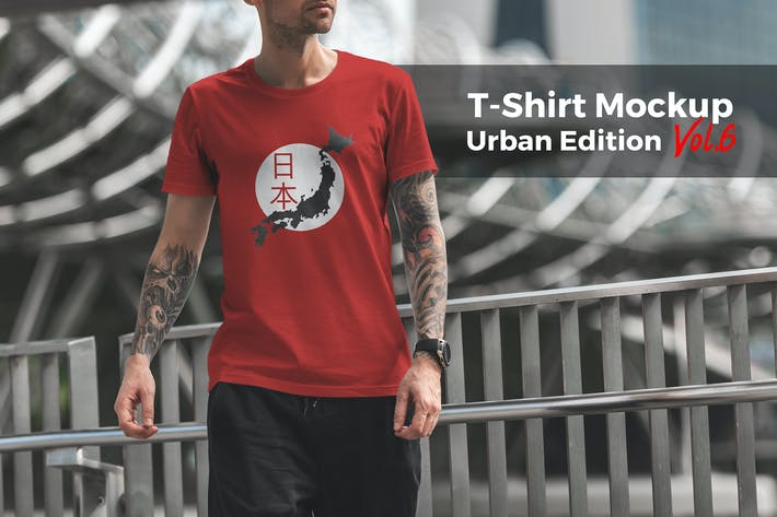 Thumbnail for T-Shirt Mockup Urban Edition Vol. 6