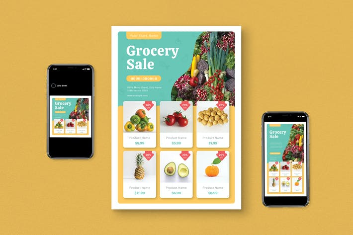Thumbnail for Groceries Flyer