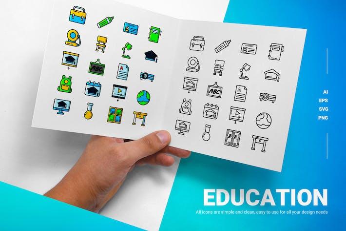 Educación - Íconos