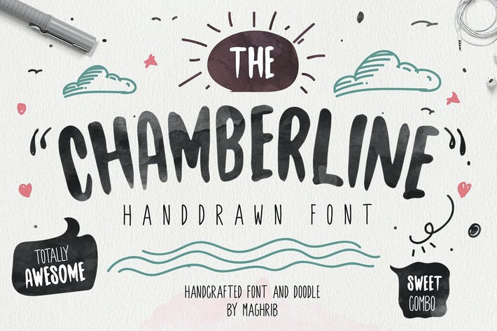 Chamberline and Doodle vector