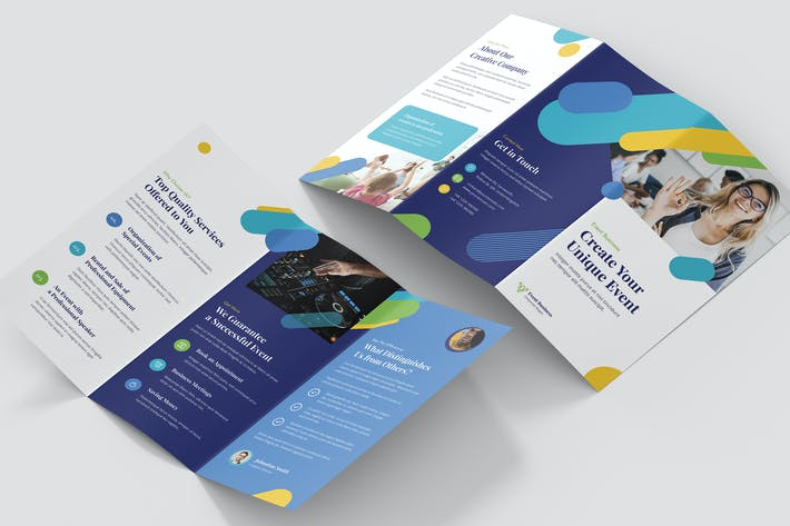 Thumbnail for Brochure – Event Business Tri-Fold