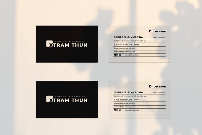 Thumbnail for Xtram Thun Business Card