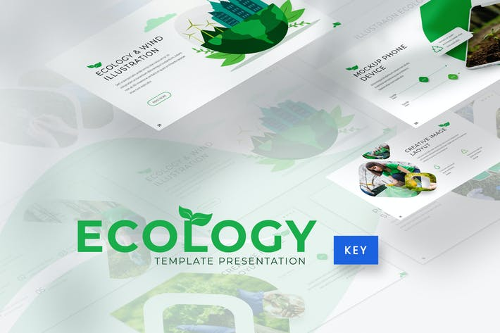 Thumbnail for Ecology - Environment Keynote Template