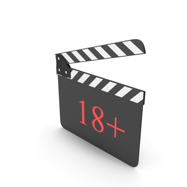Clapperboard 18+