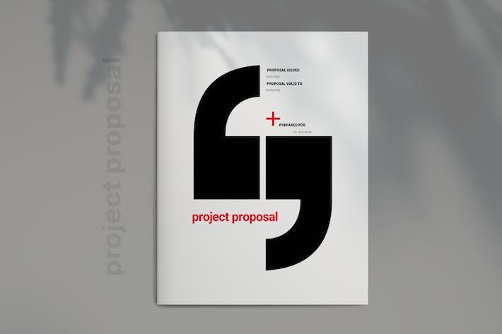 Thumbnail for Proposition d'entreprise rouge