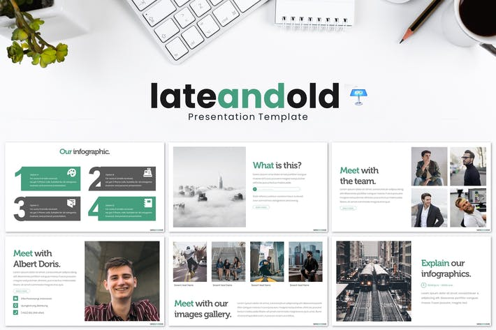 Late and Old - Keynote Template