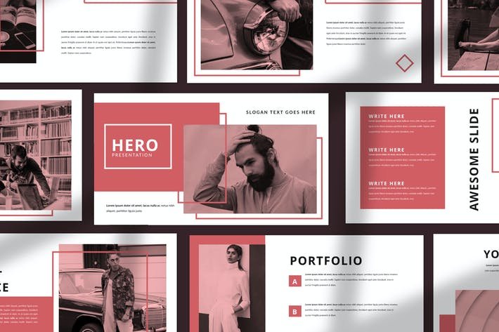 Thumbnail for HERO - Unternehmens- Powerpoint Business Company