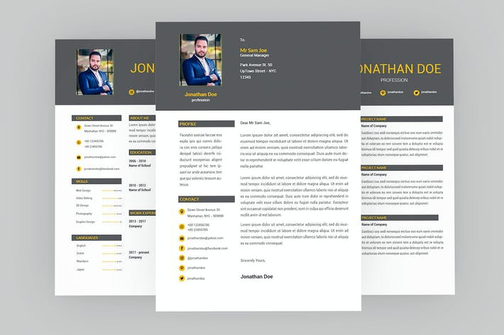 Thumbnail for Page Resume Designer