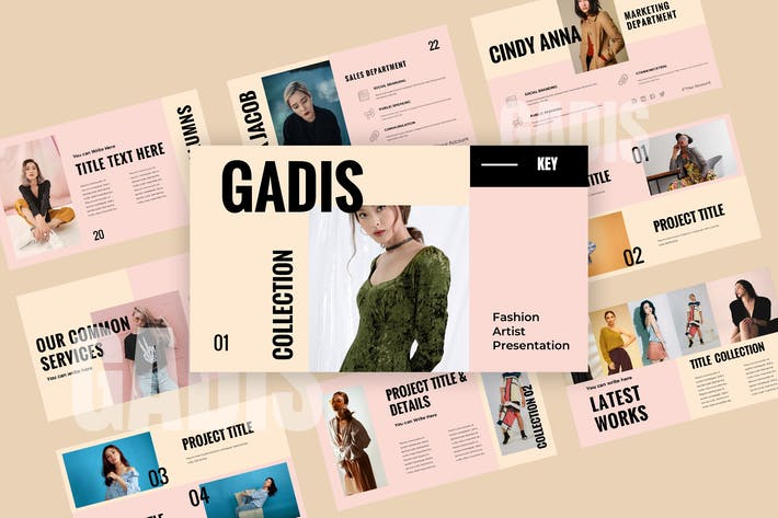 Thumbnail for Gadis - Fashion Keynote Presentation