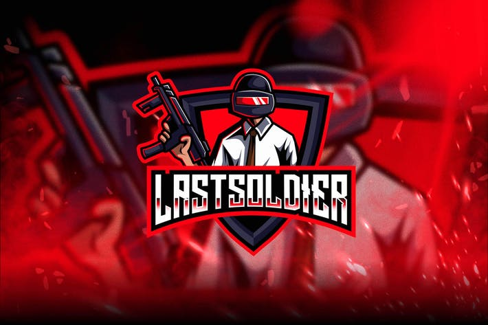 Thumbnail for Last Soldier Esport Logo Template
