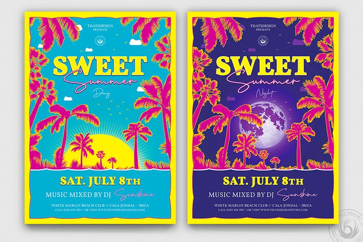 Thumbnail for Sweet Summer Flyer Template