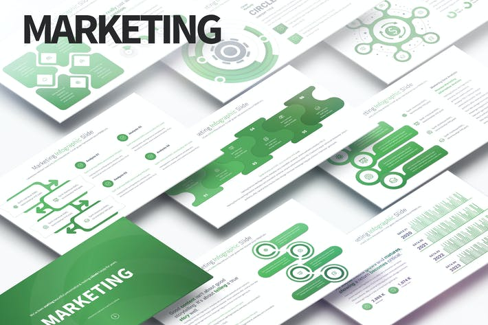 Marketing - PowerPoint Infographics Slides
