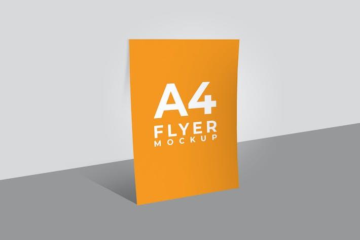 Thumbnail for Flyer Mockup  - Light File Size