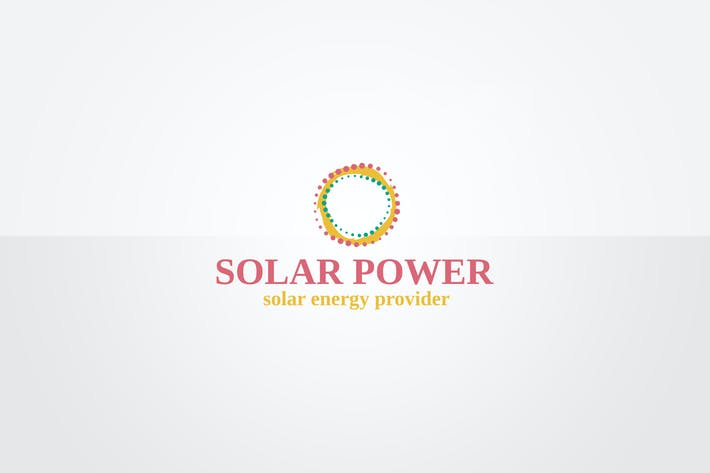 Thumbnail for Solar Logo Template
