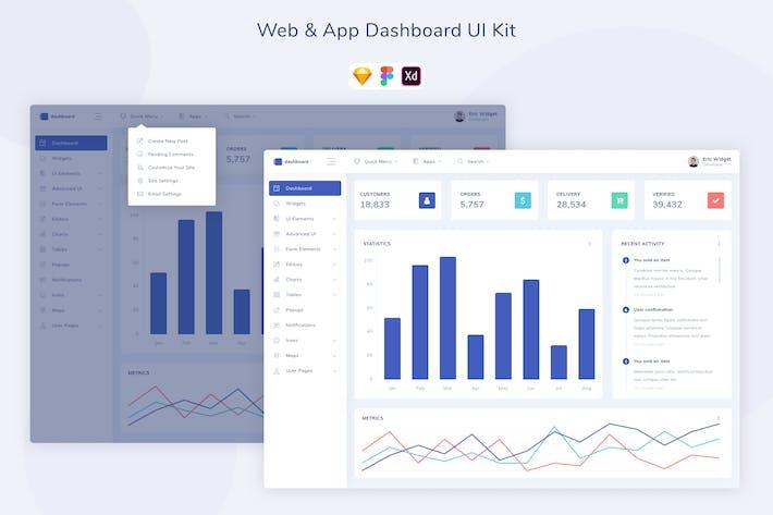 Web & App Dashboard UI Kit