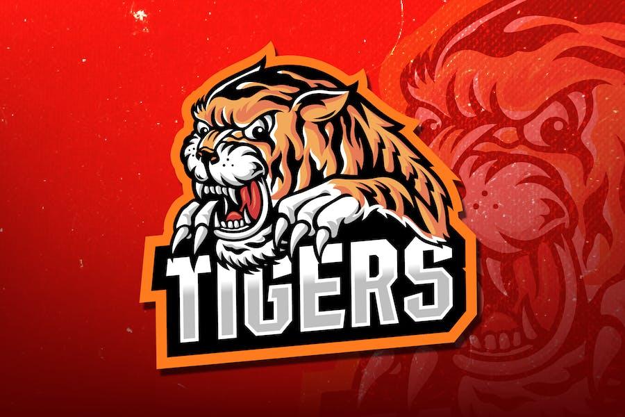 Tigers E-Sport Logo