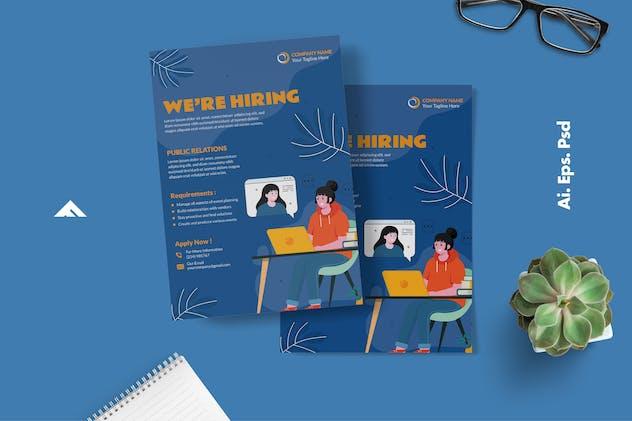 Public Relation Company Job Hiring Advertisement