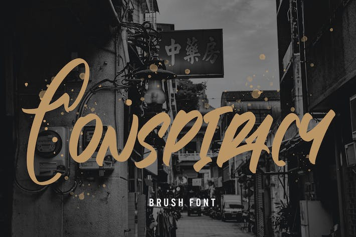Conspiracy - Brush Font