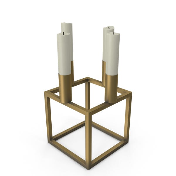 Cubical Candlestick Mini