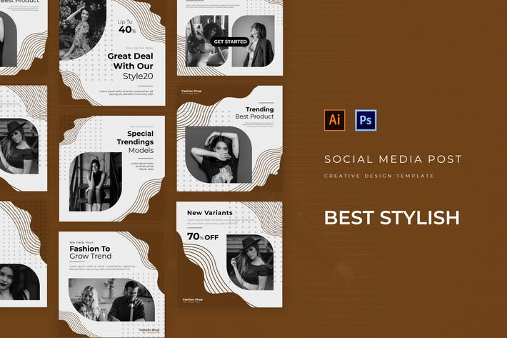 Thumbnail for Best Stylish Social Media Post