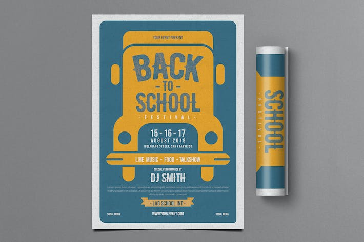Cover Image For Back To School Flyer