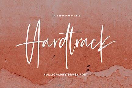 Hardtrack - Fuente de pincel de caligrafía