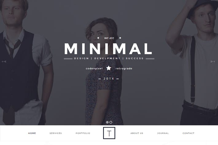 Cover Image For T-ONE Clean & Minimal Template