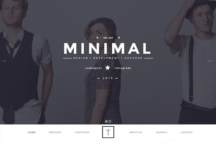 Thumbnail for T-ONE Modèle propre et minimal