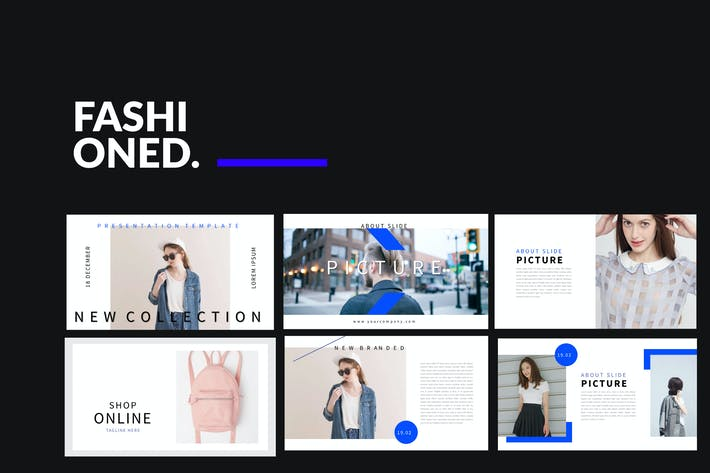 Cover Image For Fashioned Stylist Powerpoint
