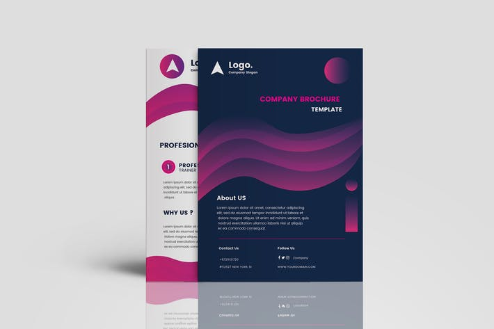 Thumbnail for Clean Gradient Multipurpose Brochure