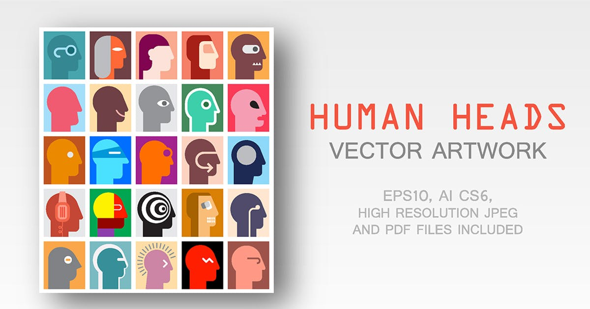 Download Human Heads by danjazzia