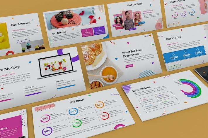 Bettersweet - Geometric Powerpoint Template