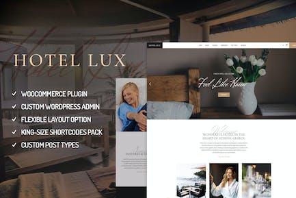 Hotel Lux - Resort & Hotel WordPress Theme