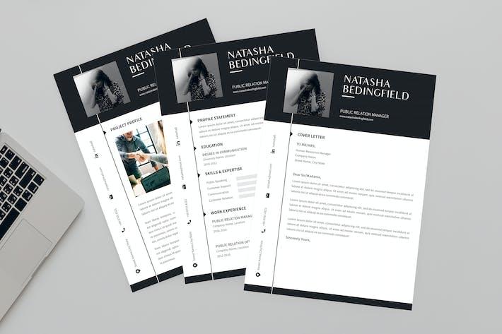 Thumbnail for Identity CV Resume Designer