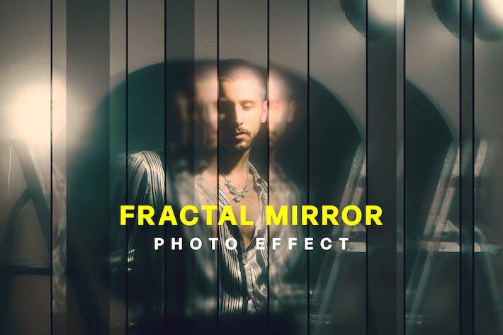 Полоса Фрактальное зеркало Фото Эффект