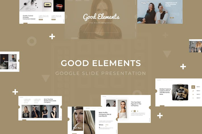 Thumbnail for Good Elements - Google Slide Template