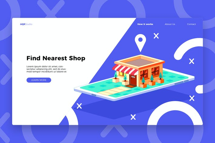 Thumbnail for Phone Shop - Banner & Landing Page