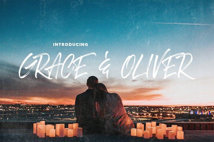 Thumbnail for Grace & Oliver Font