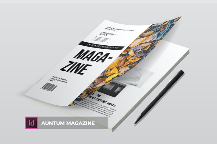 Thumbnail for Auntum Mag | Magazine Template