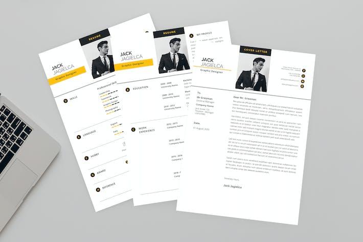 Jack Graphic Designer Resume Designer