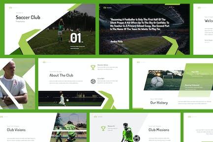 Soccer Club Powerpoint Presentation