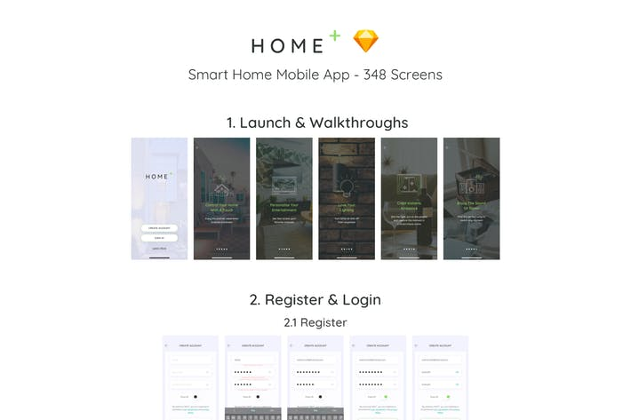 Thumbnail for HOPL - Home Control Mobile Sketch App