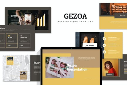 Gezoa : Bakery & Pastry Business Powerpoint