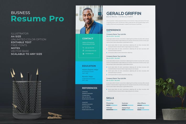 Thumbnail for Business Consultant Resume Pro