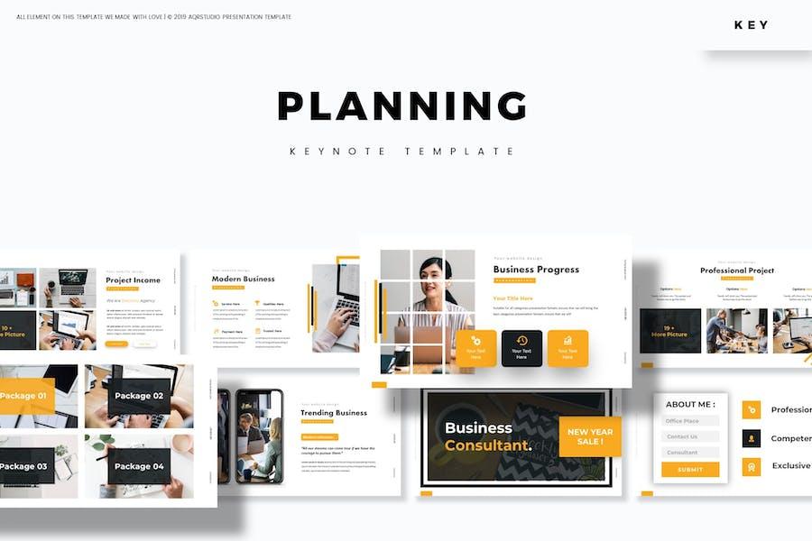 Planning - Keynote Template