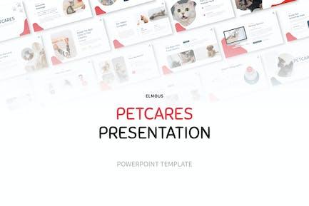 Petcares Powerpoint Template Presentation