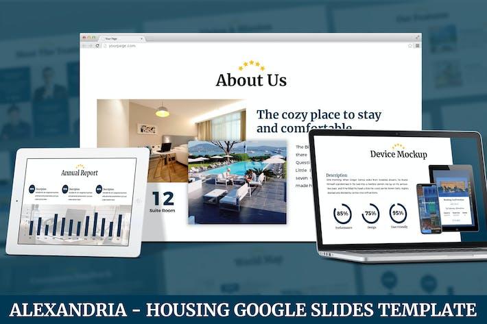 Thumbnail for Alexandria - Housing Google Slides Template